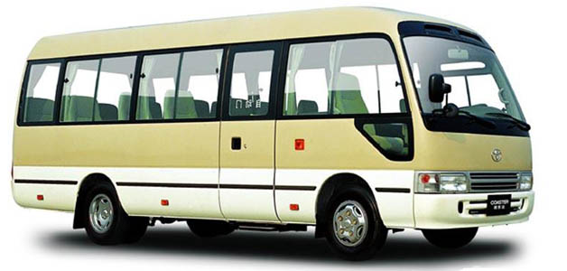 19 Seats King Long Bus for rental at Guilin and Yangshuo